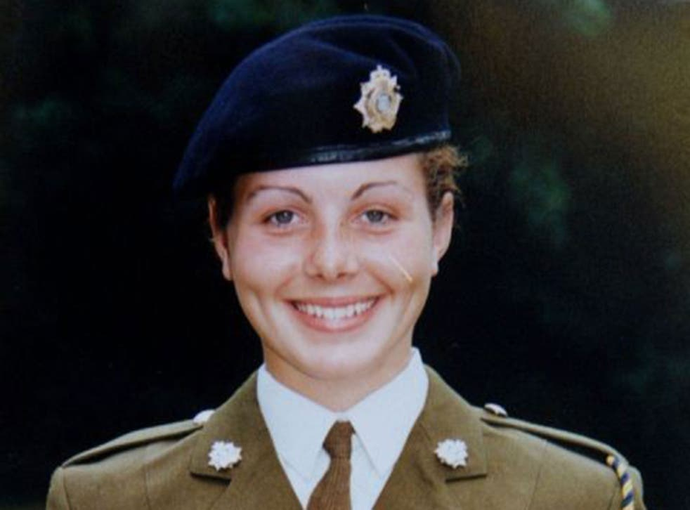 Private Cheryl James was found dead from a single gunshot wound to the head