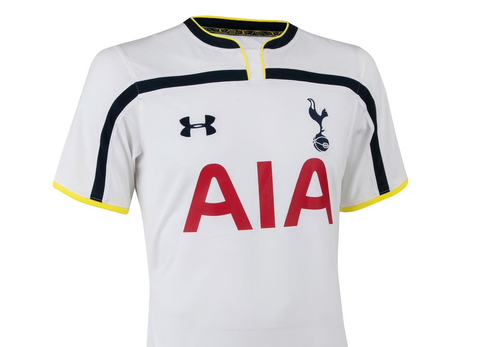 Tottenham Hotspur 2014/15 kits: Club unveil new Bill