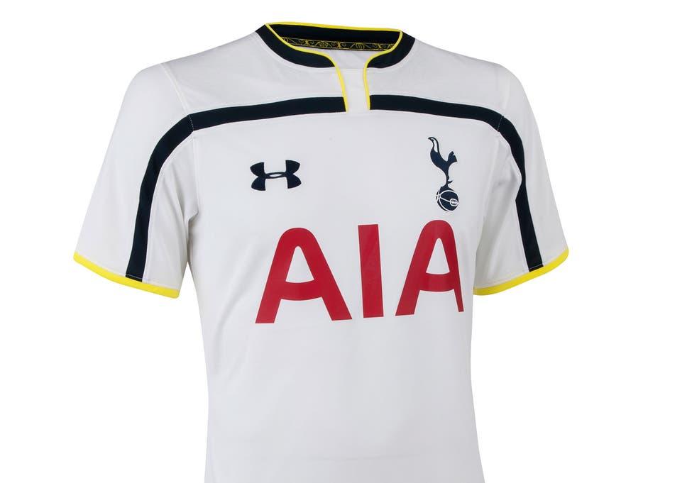 Tottenham Hotspur 2014/15 kits: Club unveil new Bill