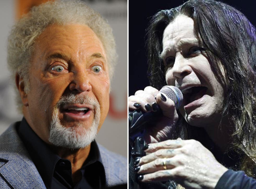 Not many people would put Tom Jones and Ozzy Osbourne together