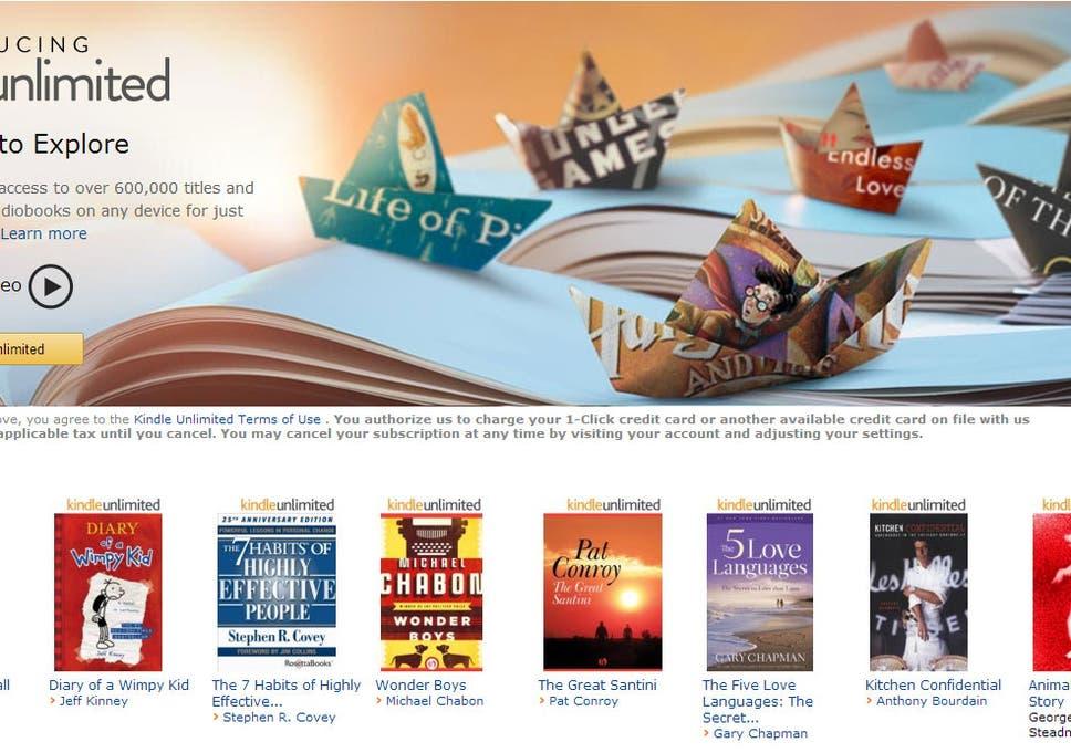 Amazon Kindle Unlimited: retailer launches e-book