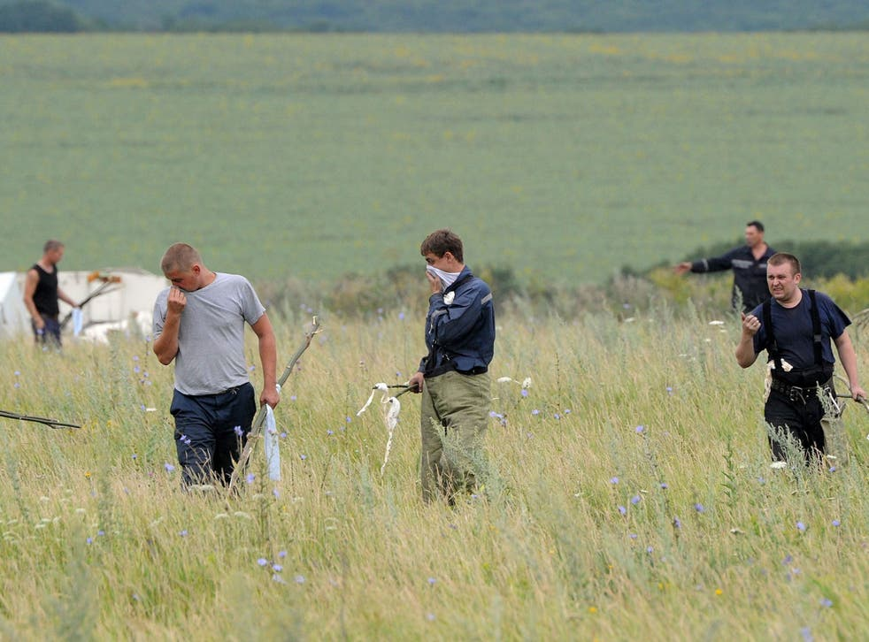 The search for bodies continues yesterday