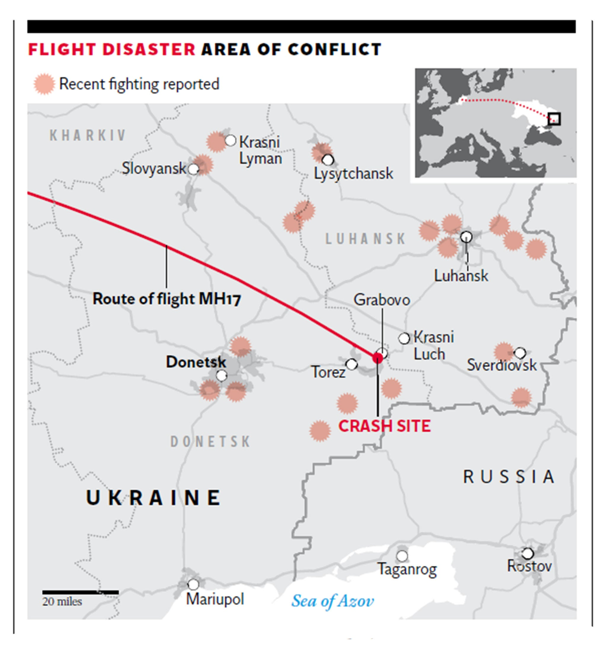 Malaysia Airlines flight MH17: Why do planes fly over war zones