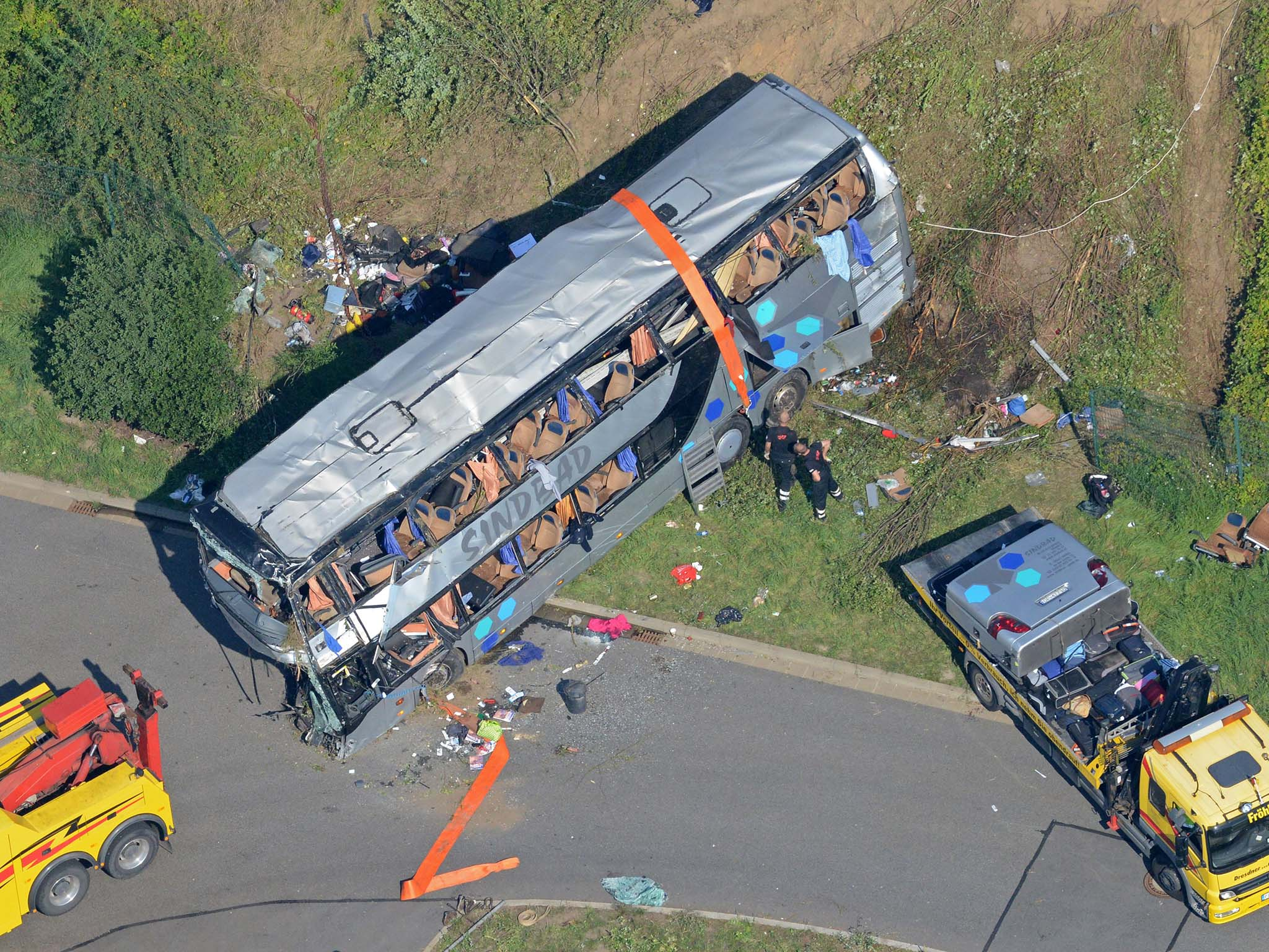 bus crash in germany kills nine and injures more than 40 the independent. Black Bedroom Furniture Sets. Home Design Ideas