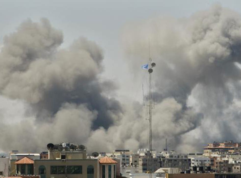 Heavy tank fire in eastern Gaza led to at least 20 deaths