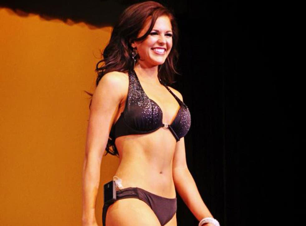 Sierra Sandison, who was crowned Miss Idaho 2014, proudly displayed her insulin pump during the swimsuit competition at the beauty pageant.