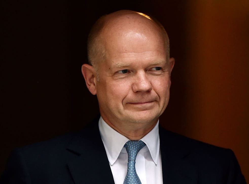 William Hague has said the constitution needs to be re-balanced in order to give English votes to English MPs after the No campaign's victory