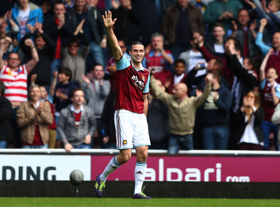 Newcastle are reported to be making a £15m move for West Ham United striker Andy Carroll