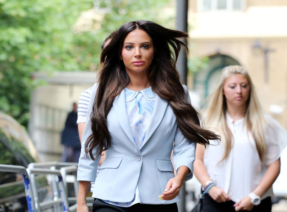 Tulisa Contostavlos demanded an inquiry into Mazher Mahmood's actions