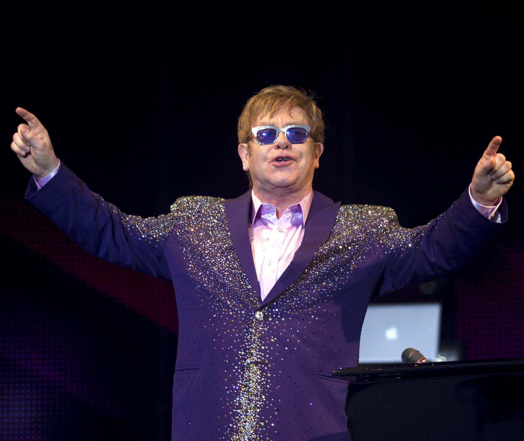On Elton John: