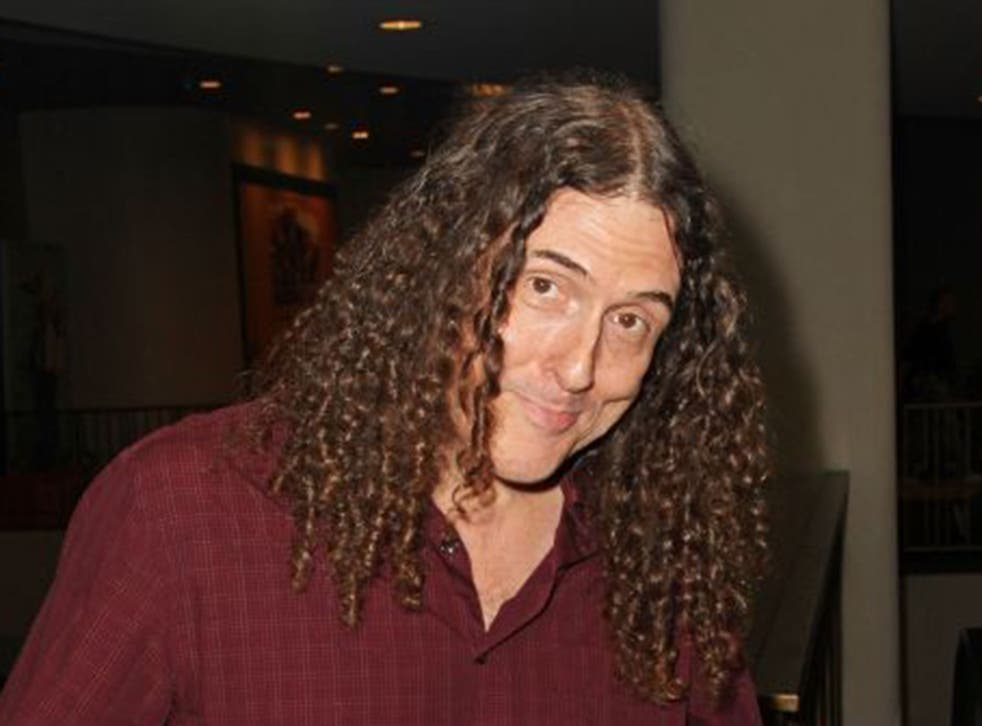 """'Weird Al' Yankovic, or Alfred Matthew, at the 2014 Los Angeles Film Festival Screening of """"They Came Together"""""""