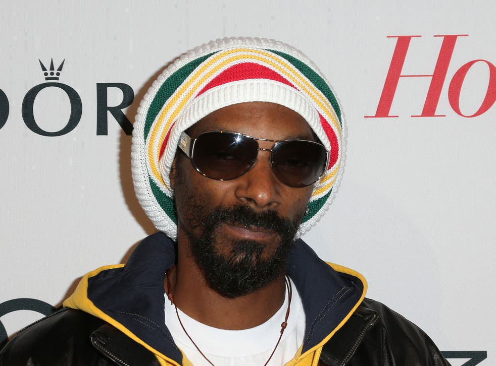Snoop Dogg pictured at The Hollywood Reporter Nominees' Night in February, 2013