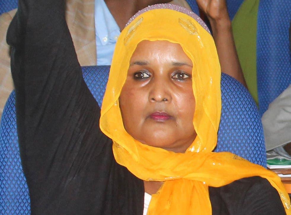 Saado Ali Warsame was attacked in the country's capitalMogadishu