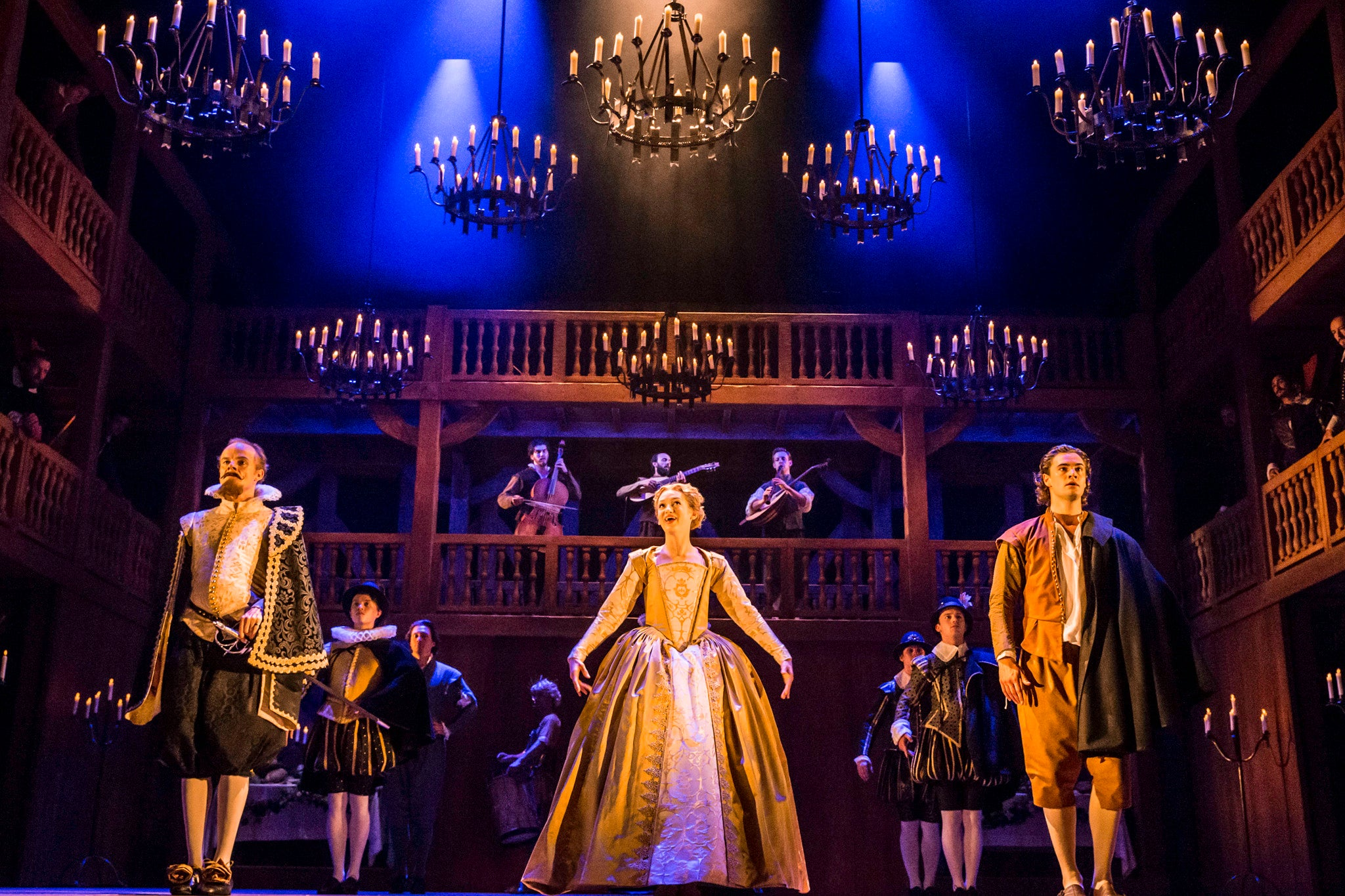 Shakespeare in Love, Noel Coward Theatre, review: Deliciously funny