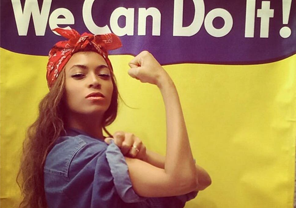 Beyonc Poses As Rosie The Riveter The Wartime Poster Girl Who
