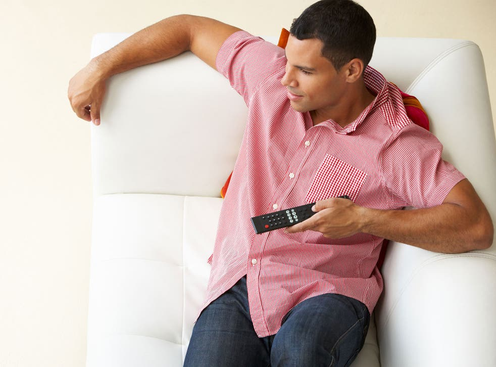People may feel that they're procrastinating by watching TV in the evening