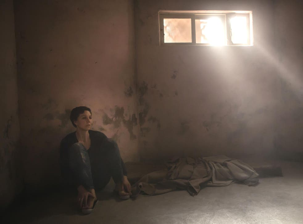 No escaping the past: Maggie Gyllenhaal in 'The Honourable Woman'
