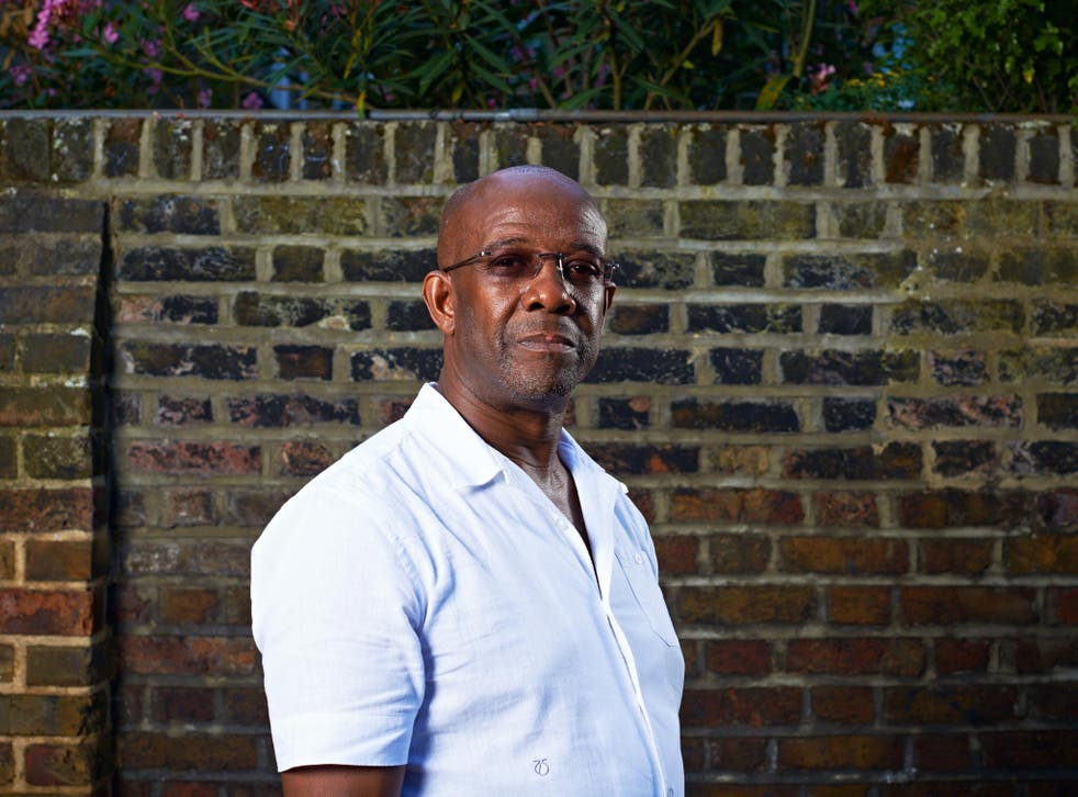Richard Adams, the father of Rolan who was stabbed to death by a gang in 1991