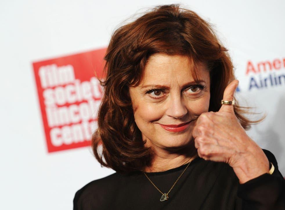 """Susan Sarandon described David Bowie as """"extraordinary"""""""