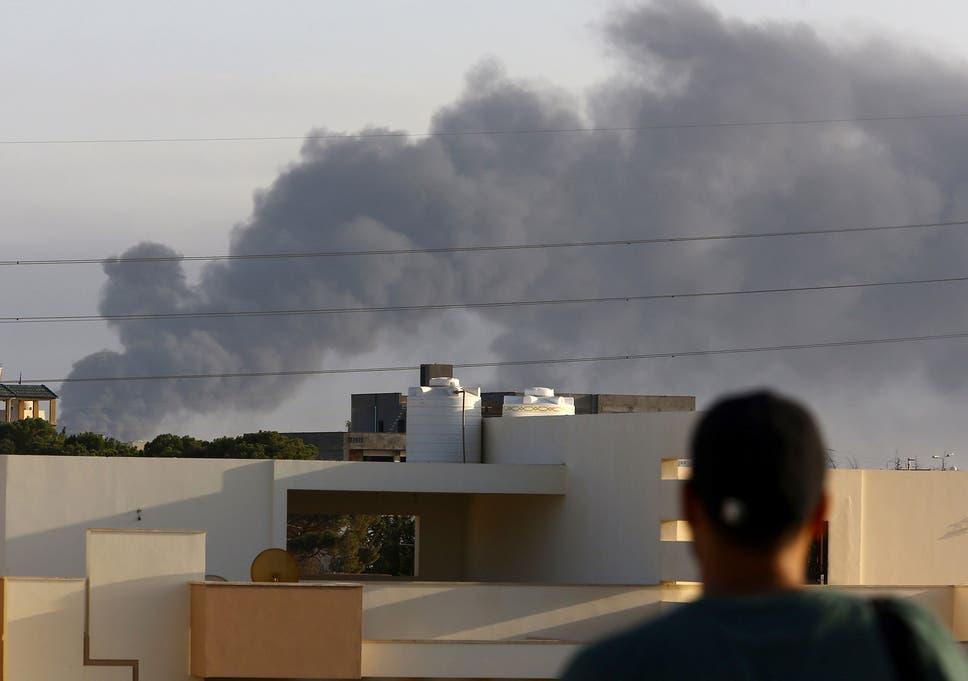 latest fighting in tripoli libya