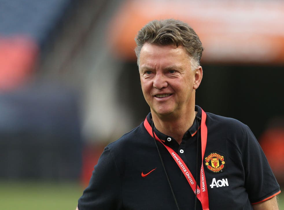 Speaking his mind: Louise Van Gaal made his feelings clear about the tour