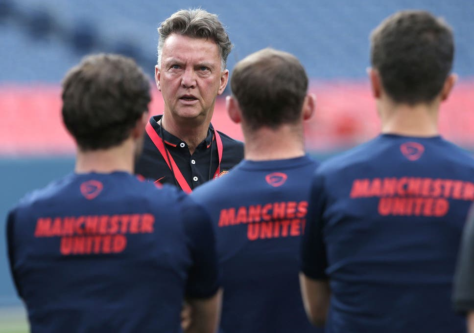 eb407dfbaa9 Louis van Gaal interview: Manchester United manager discusses tactics and  rebuilding after the David Moyes era