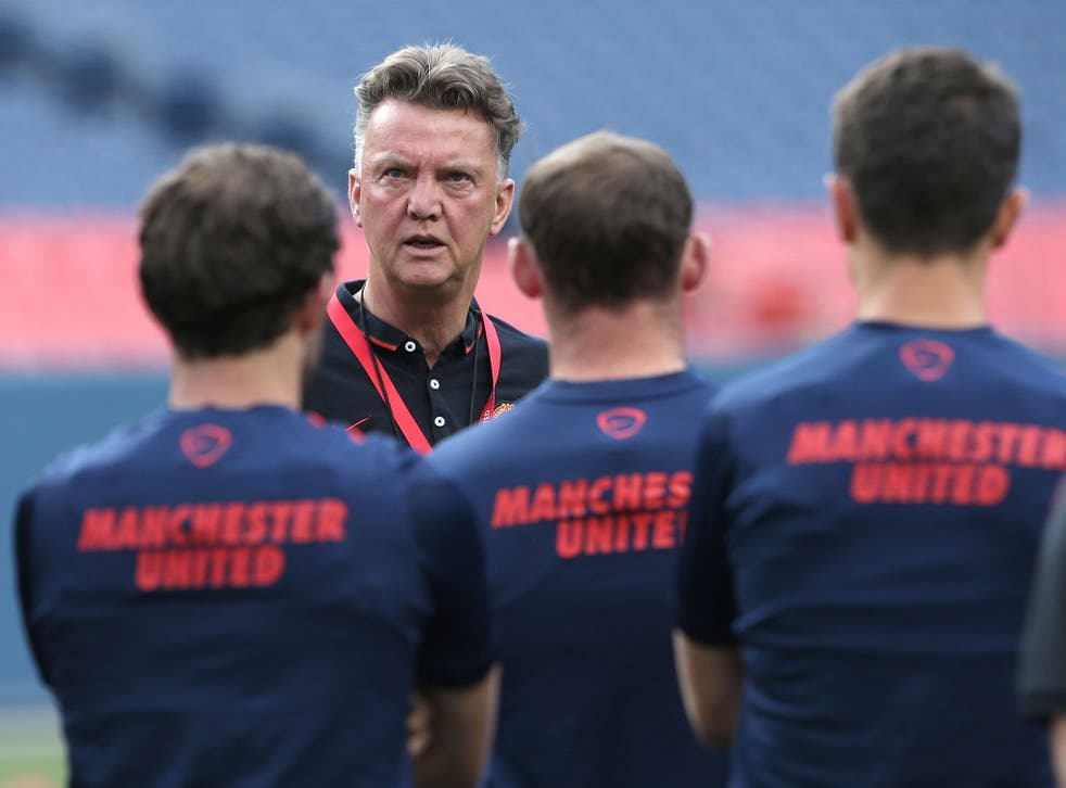Van Gaal said that his challenge in taking over Bobby Robson's Barcelona team in 1993 has been easier than the task of resurrecting the current United side