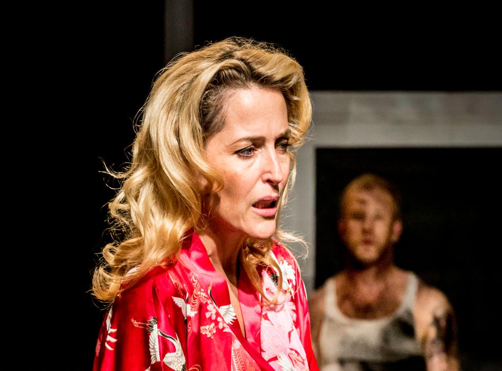 Gillian Anderson stars as Blanche DuBois in A Streetcar Named Desire