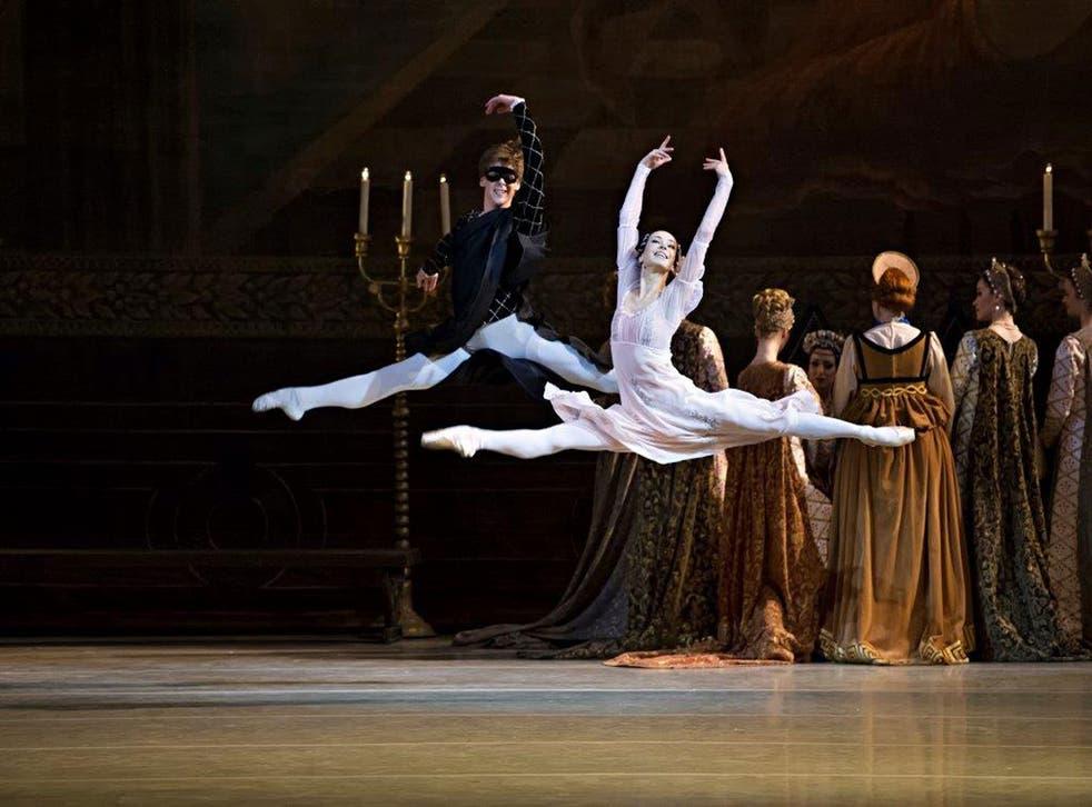 Diana Vishneva and Vladimir Shklyarov in Romeo and Juliet