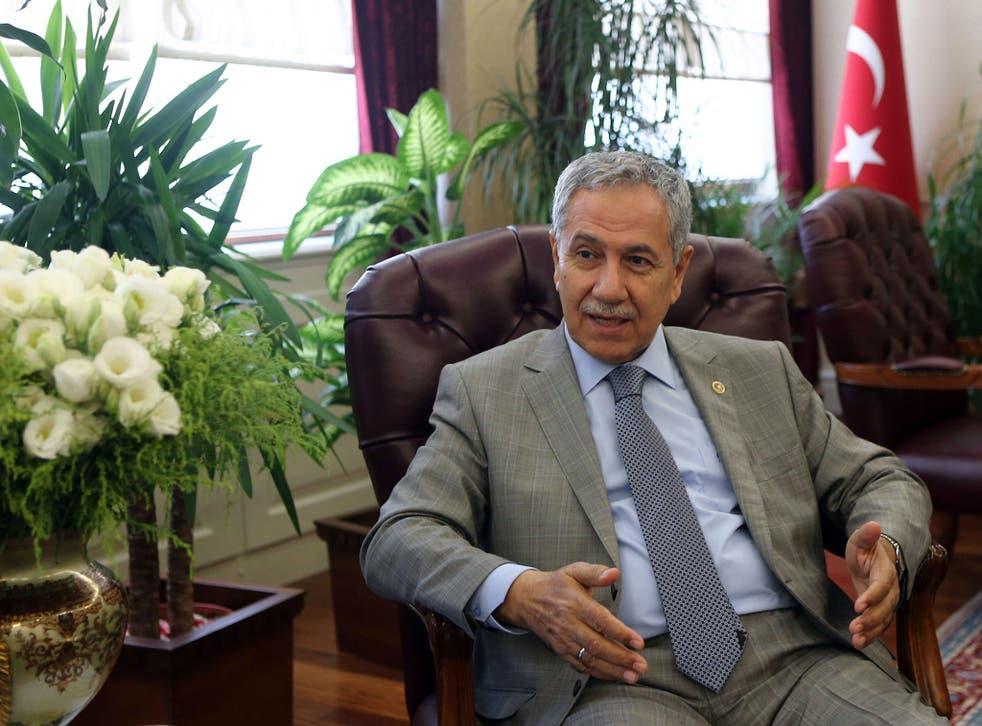 Turkey's Deputy Prime Minister Bulent Arinc