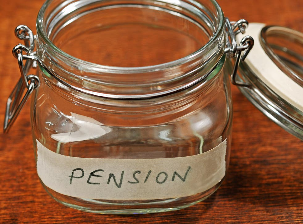 Fewer than a third of those surveyed said they have a pension scheme offered through their employer