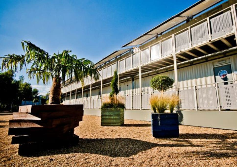 Shipping Container Hotels Pop Up Hotels Filling A Niche The