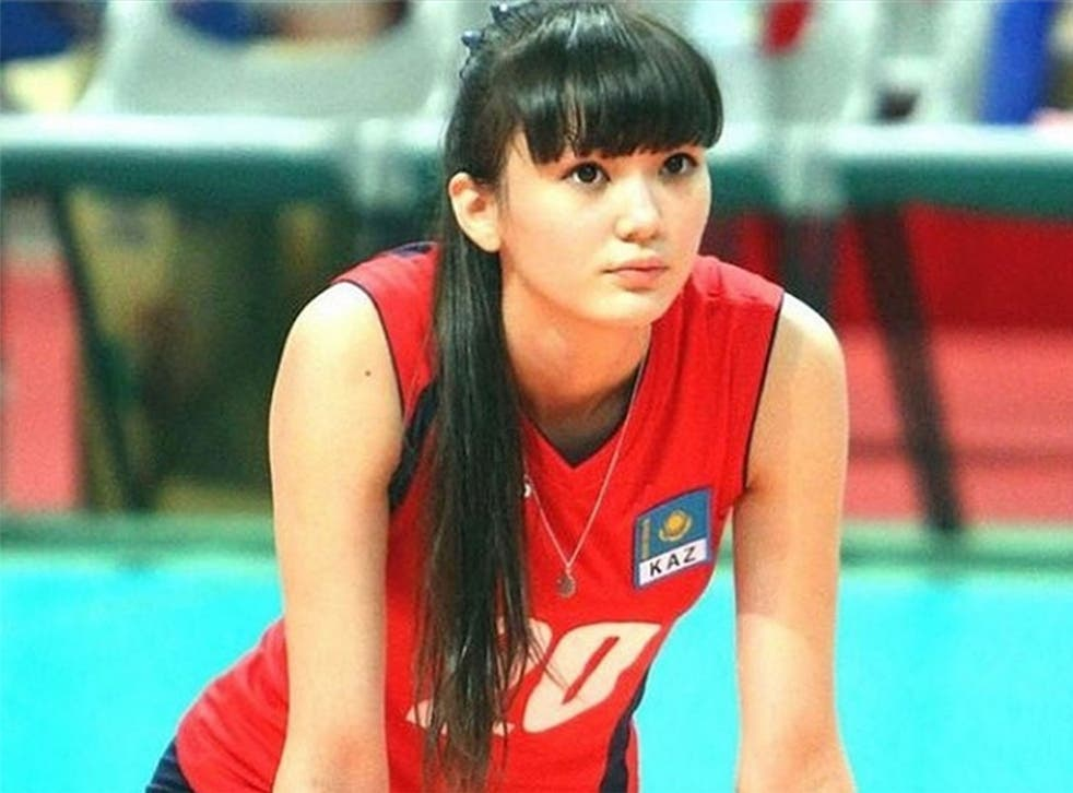 Sabina Altynbekova has said she wants to be famous for playing volleyball, not her looks