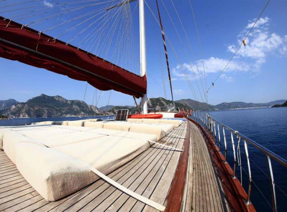 All hands on deck: Freedom Treks' Turkey cruise