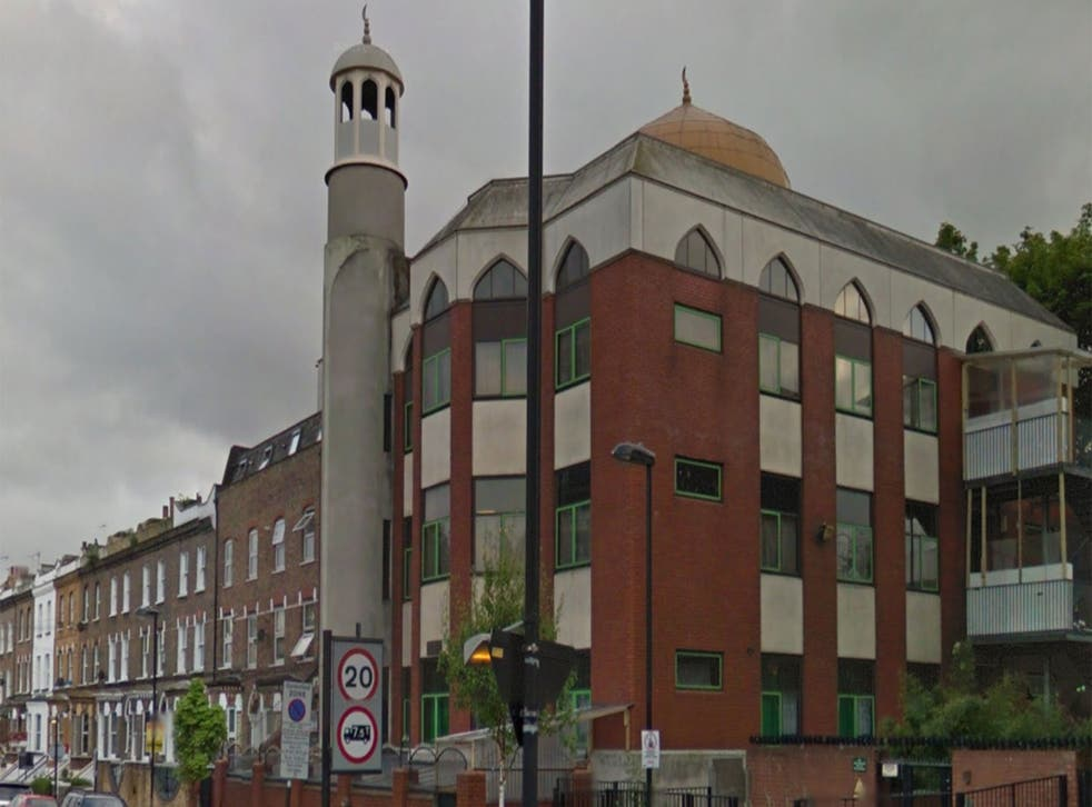 The Finsbury Park mosque, in north London, has had its HSBC account closed