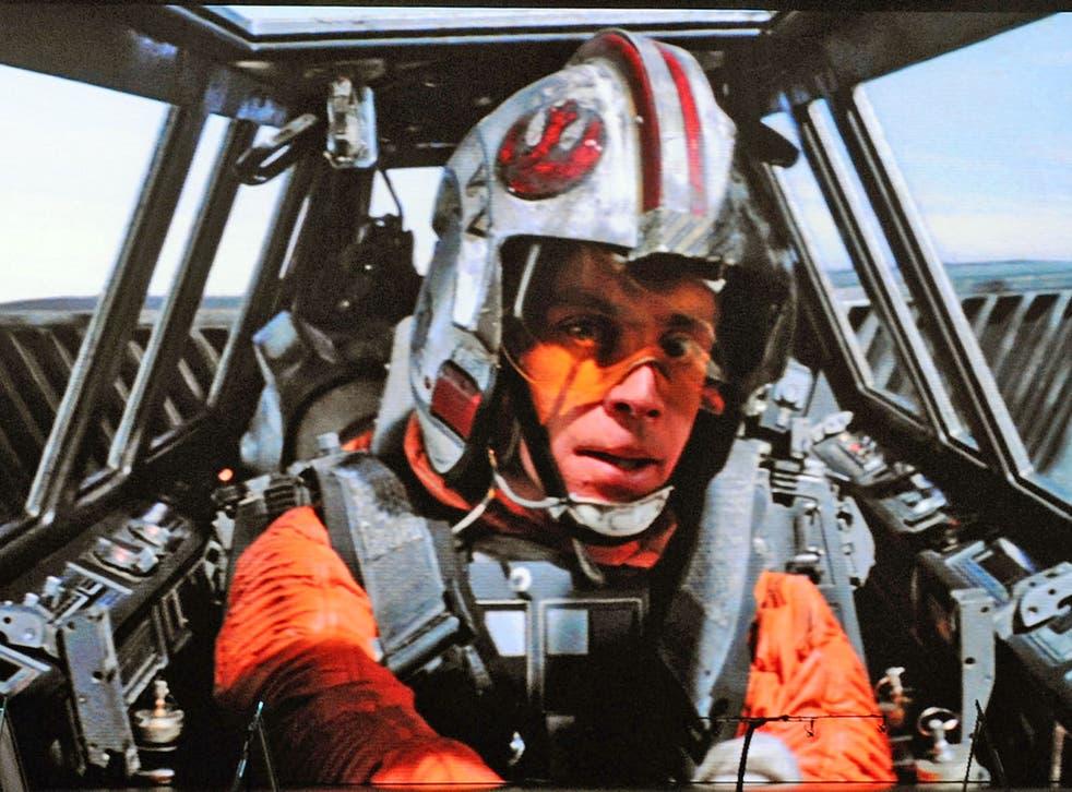 Luke Skywalker character from 'Star Wars Episode V: The Empire Strikes Back