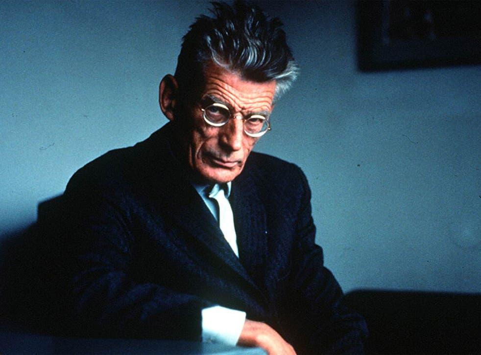 Unhappy days: Resistance spy turned Nobel prize winner Samuel Beckett
