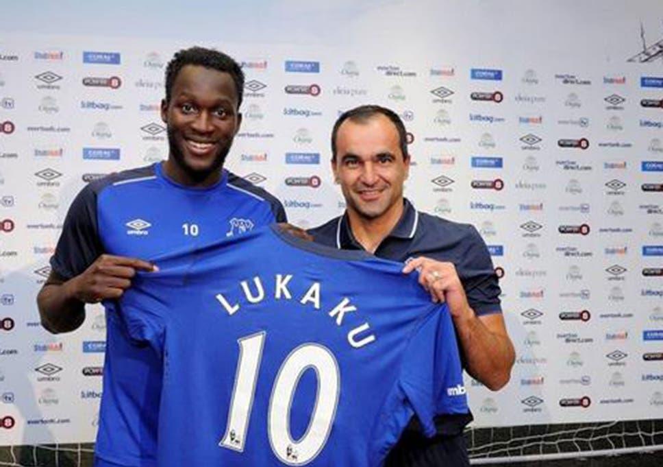 online store 9333c 8e610 Romelu Lukaku joins Everton: Striker admits he didn't talk ...