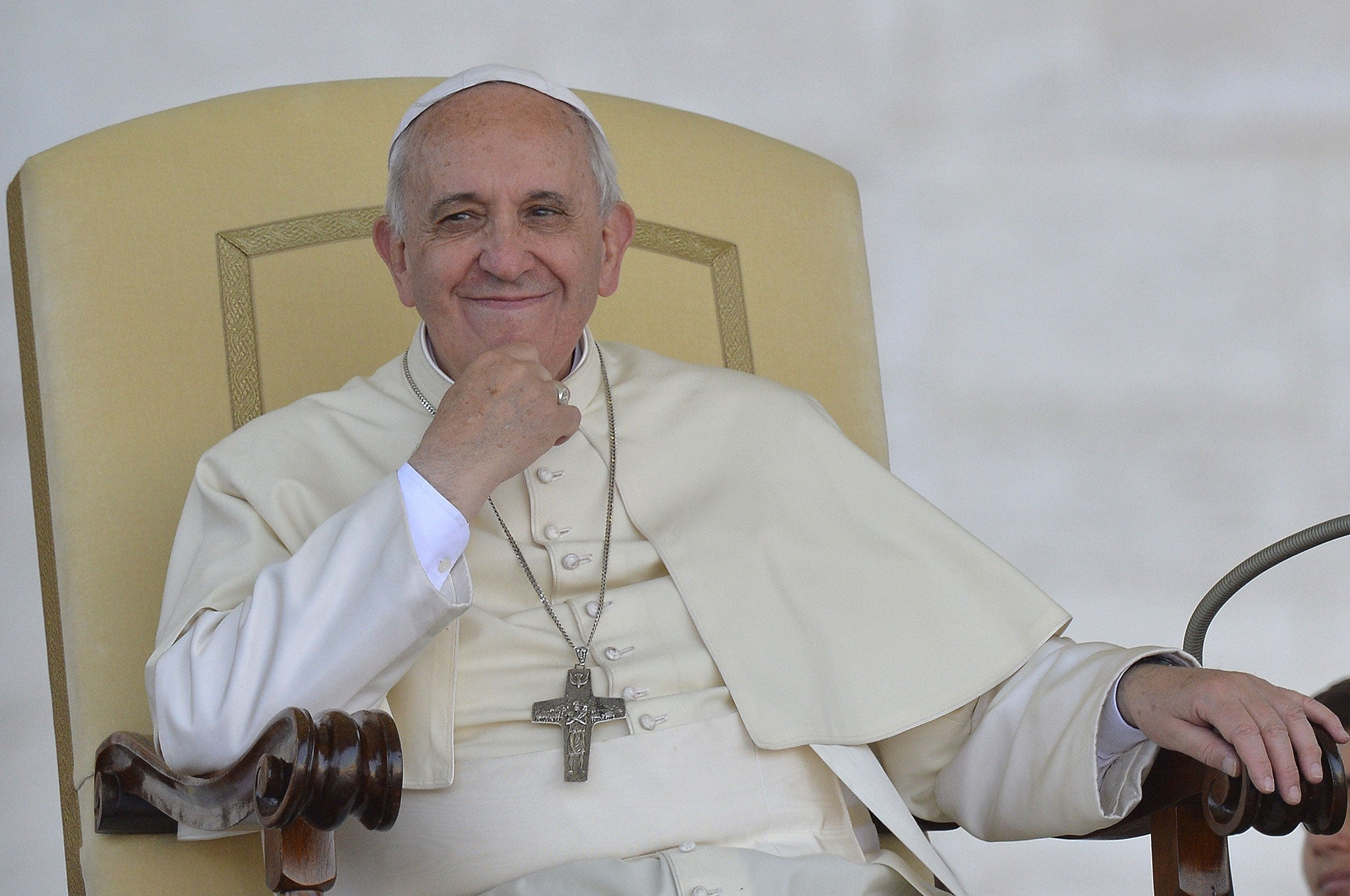 Pope Francis says Satan is a very smart person you should