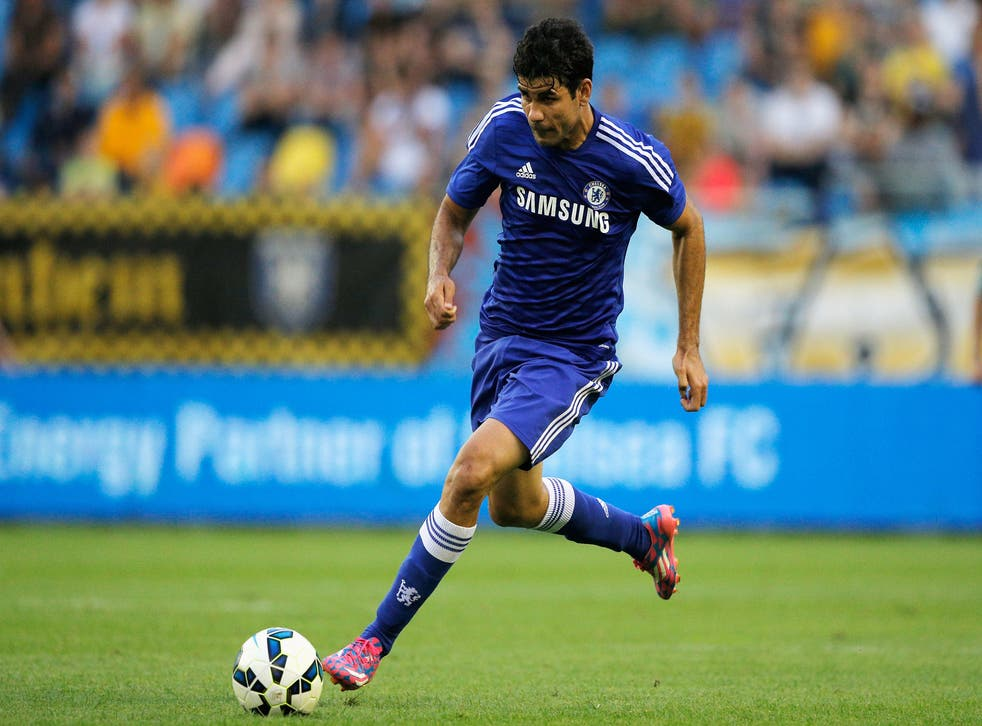 Diego Costa excelled for Chelsea yet again