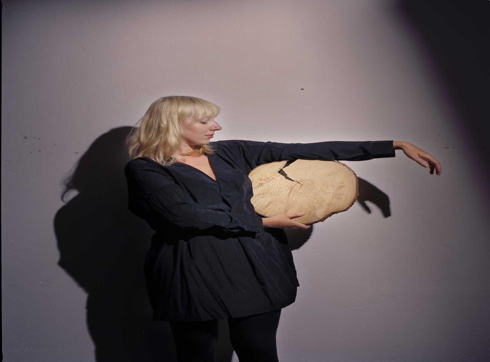 Bark life: Katie Paterson in her Berlin studio