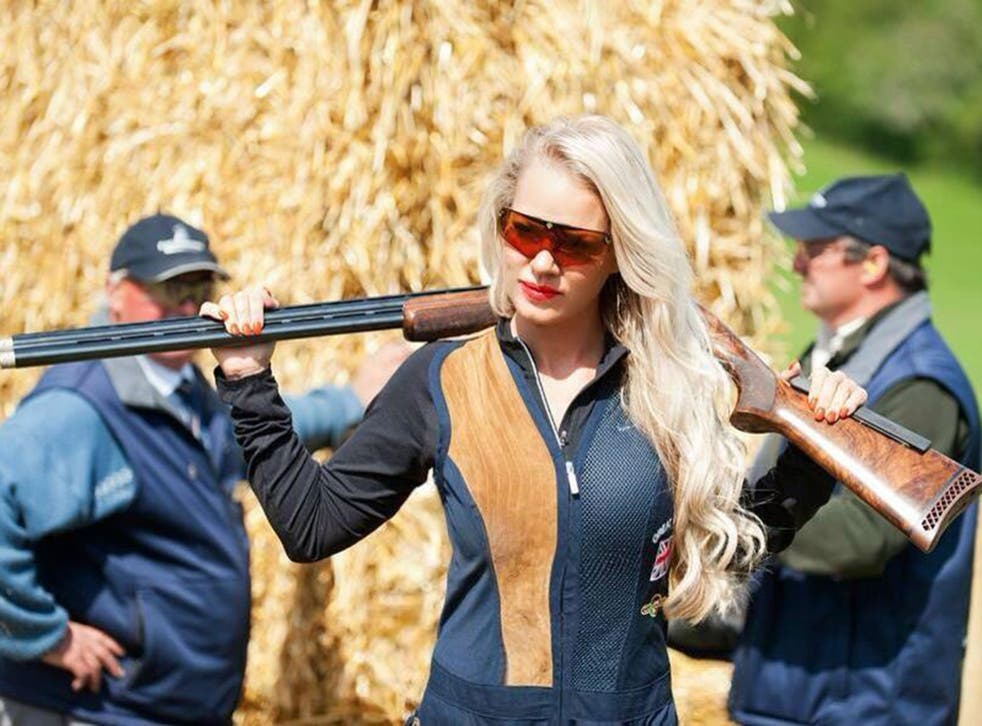 Carrie is to compete in the double trap at the Commonwealth Games this week