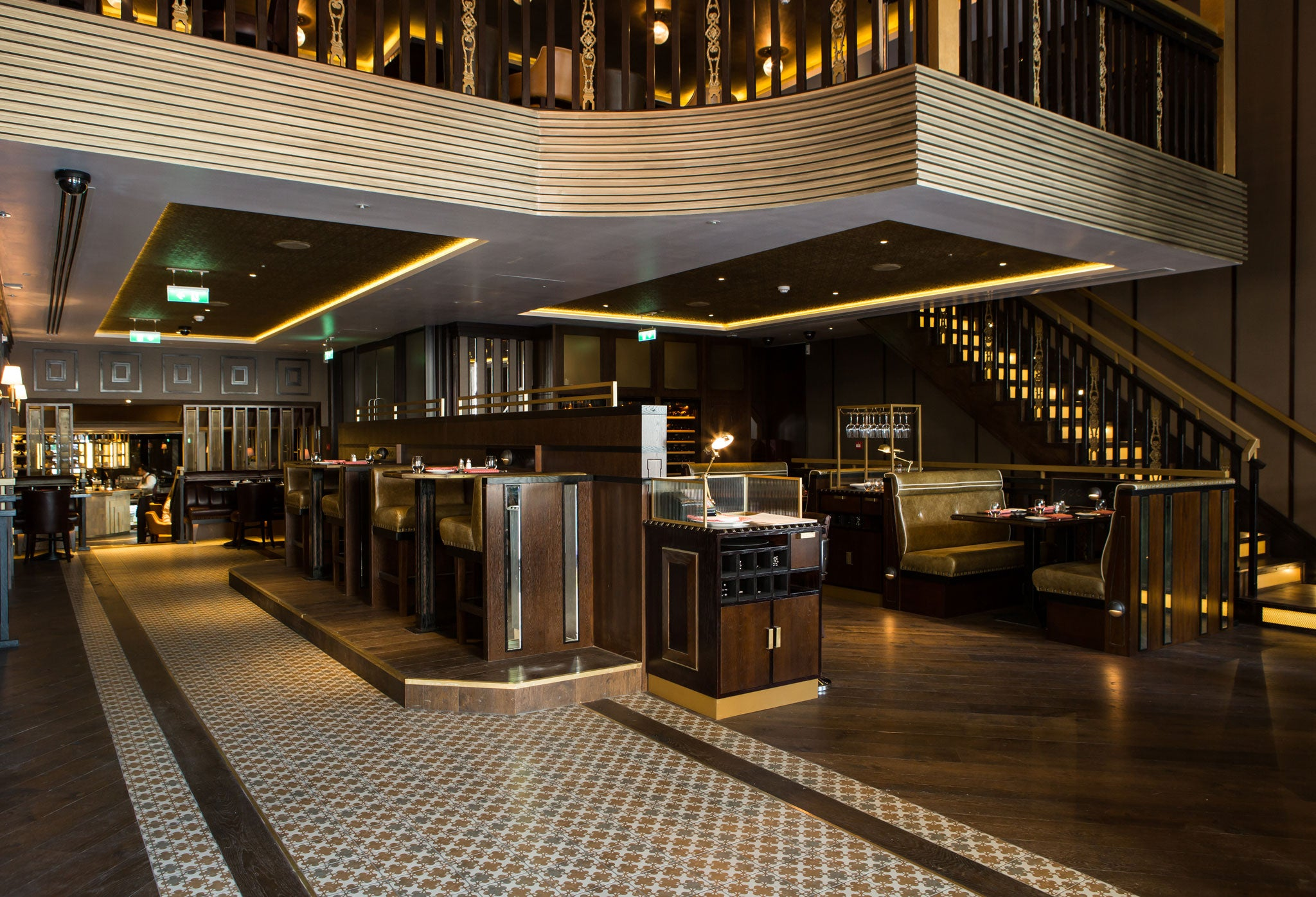 the strand dining rooms, restaurant review: does the venue live up