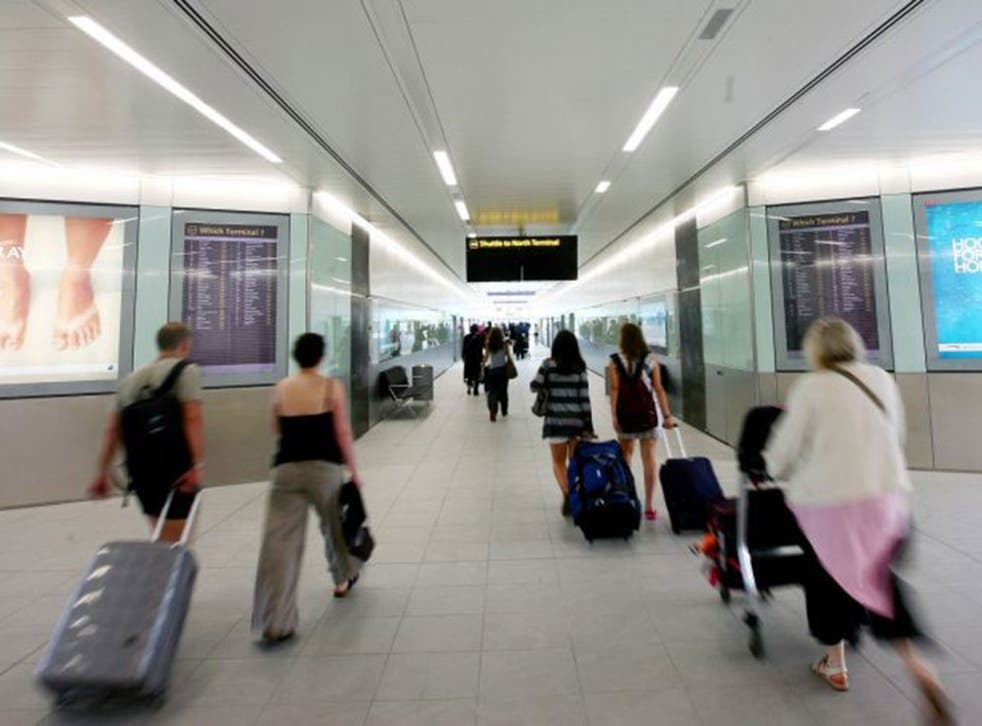 Baggage reclaim staff report that it is business as usual with no delays so far