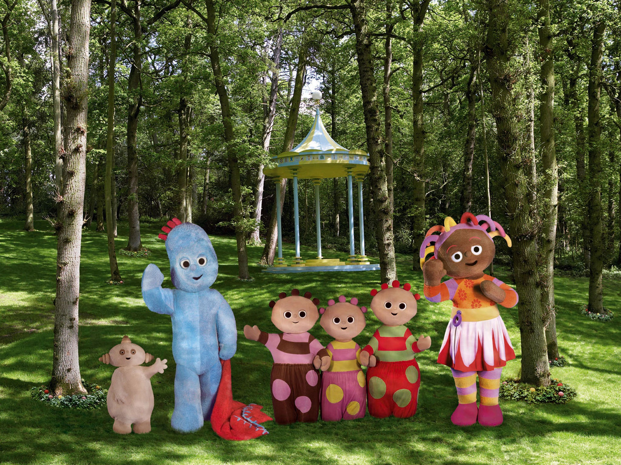 Kid S Favourite Iggle Piggle To Get His Own Play Park