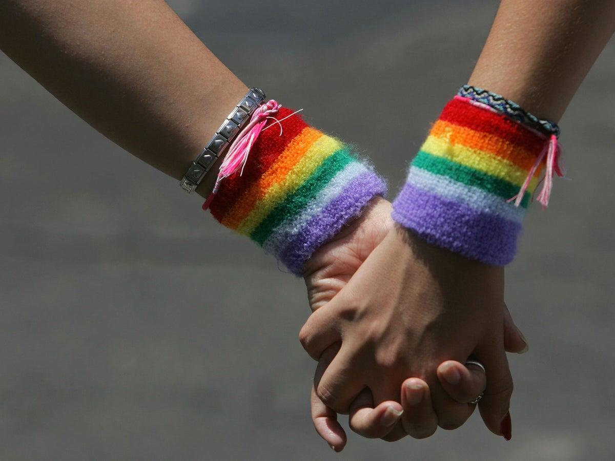 Lesbian teen thumb