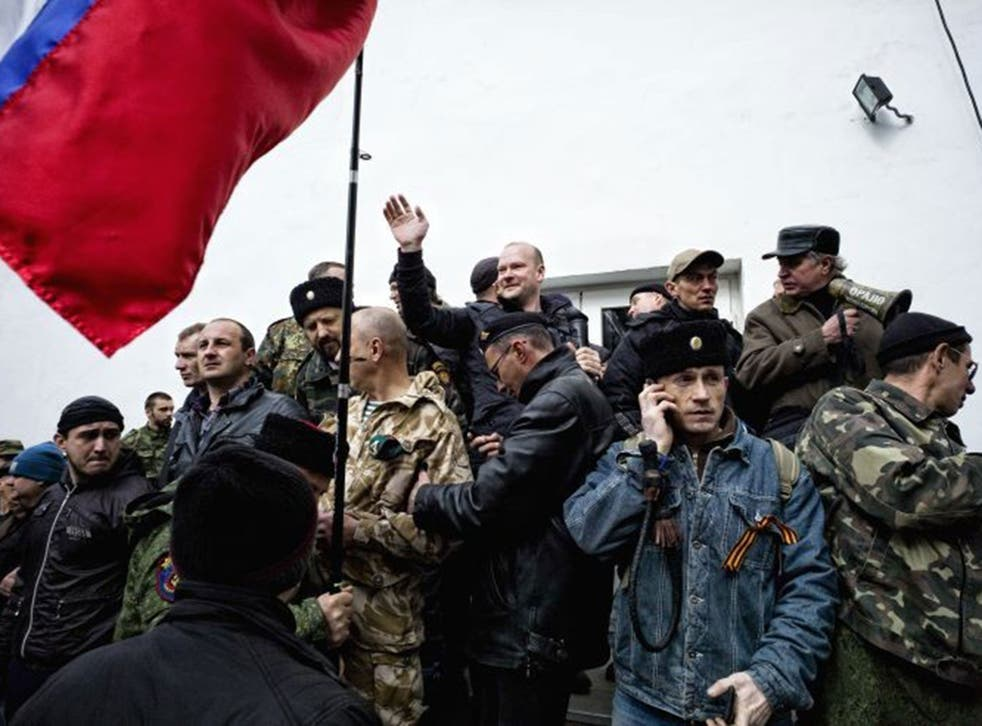In retreat: Russian-backed separatists in Ukraine are being isolated by Kiev forces