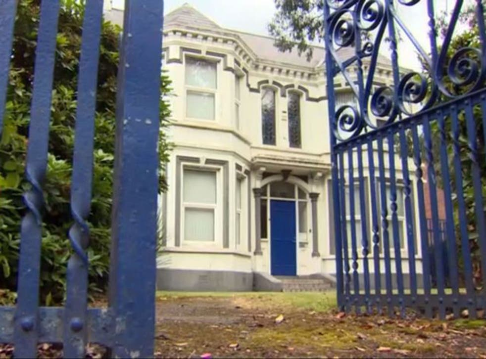 The Kincora Boys' Home in Belfast; in 1981, three men were imprisoned for between four and six years for a number of offences relating to systematic sexual abuse