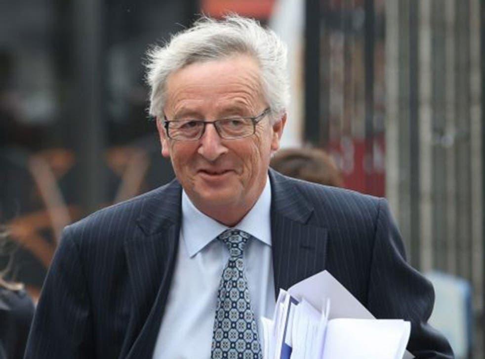 European Commission chief Jean-Claude Juncker
