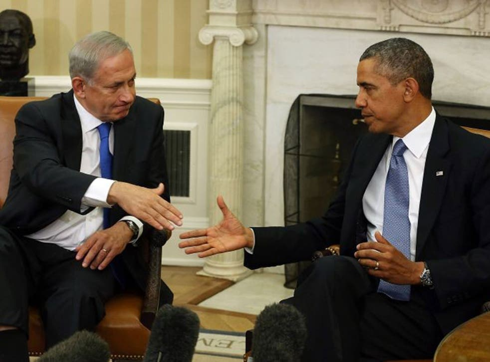 Barack Obama and Benjamin Netanyahu are now on the same page
